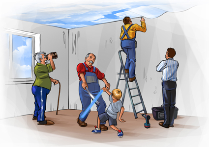 Как выбрать натяжные потолки в одессе