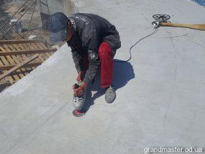 Обработка бетона в аквапарке