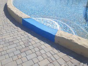 Обработка и защита бетона в аквапарке